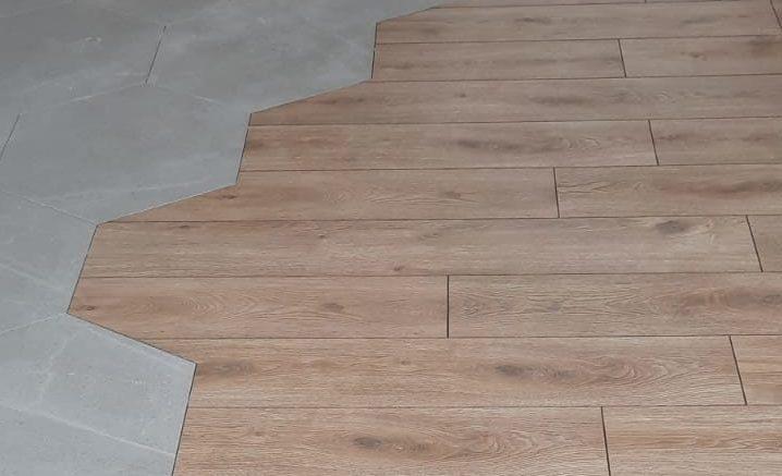 Pose de sol, carrelage et parquet pour une entreprise à Angers par Fouillet