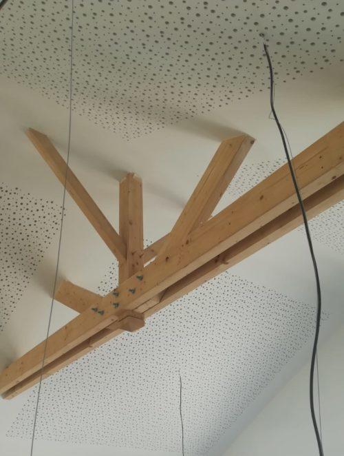 travaux de platrerie au plafond par Fouiller, platrier Angers